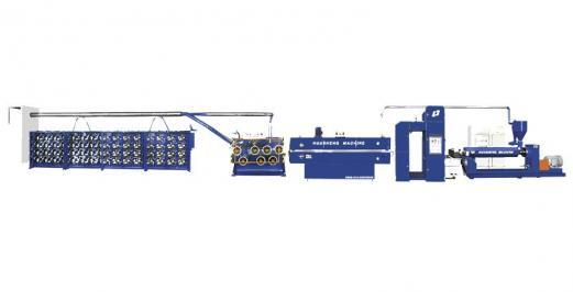 SJPL-G系列塑料挤出平膜扁丝机组