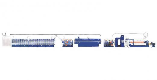 SJPL-GS系列塑料挤出平膜扁丝机组1